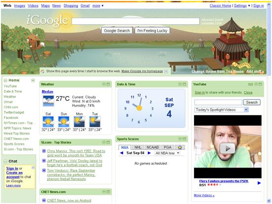 iGoogle Dashboard