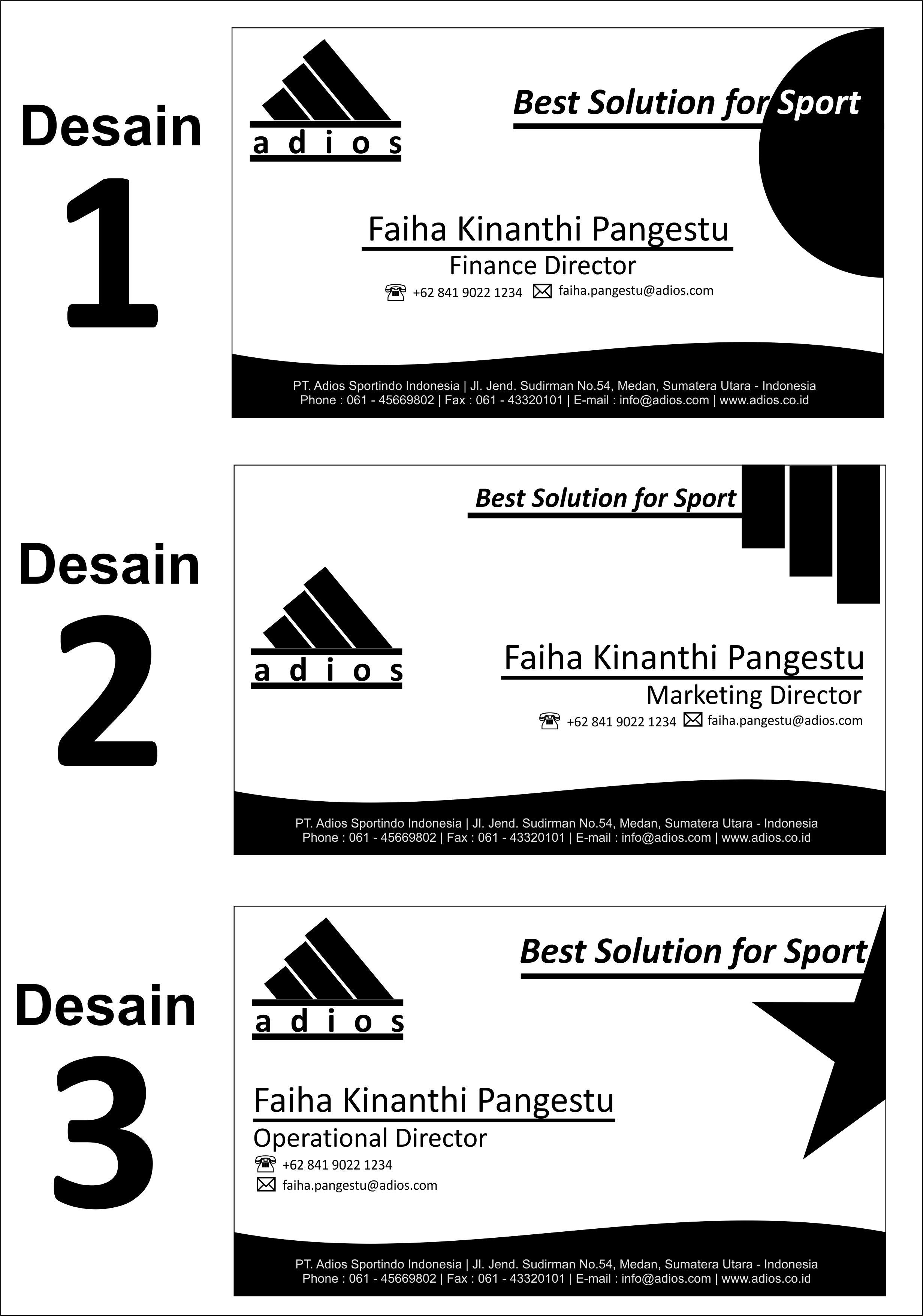 Desain Kartu Nama dengan Corel Draw | Weblognya Bang Danu